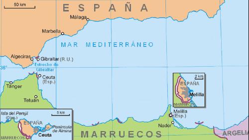 Ceuta and Gibraltar