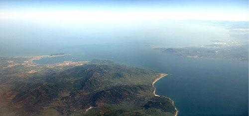 Le détroit de Gibraltar en 2007