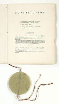 Constitution of France's Vth Republic
