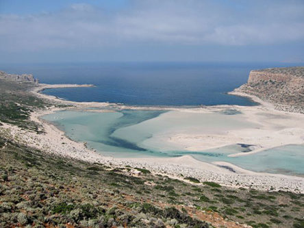 La lagune Balos