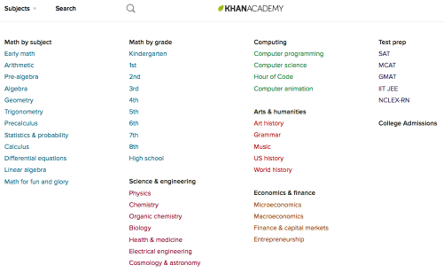 The Khan Academy