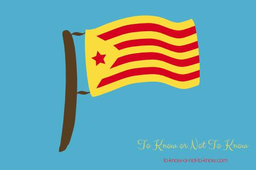 Estelada Roja flag
